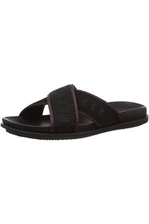 Ted Baker London Ted Baker Men's MFD-MABLAR-Textile Sandal Flip Flops
