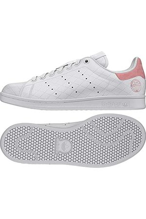 adidas Women's Stan Smith W Sneaker, FTWR /FTWR /Glory