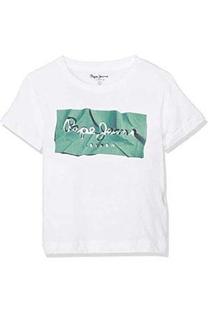 Pepe Jeans Boy's Raury T-Shirt, (672pine 672)