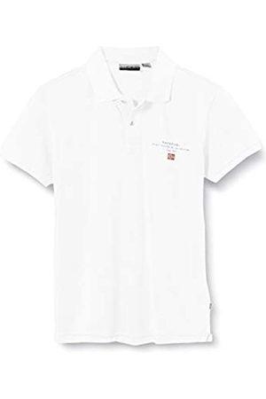 Napapijri Boy's K Elbas 3 Polo Shirt, (Bright 0021)