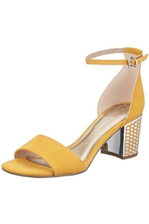 Marco Tozzi Women's 2-2-28320-24 Ankle Strap Sandals, (Saffron 627)
