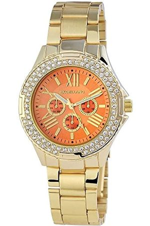 Excellanc Womens Analogue Quartz Watch with Stainless Steel Strap 1.52106E+11