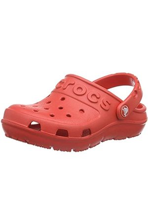 Crocs Kids' Hilo Clog, (Flame)