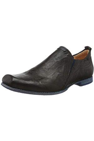 Think! Men Loafers - Men's 686697_GURU Loafers, (SZ/Navy 16)