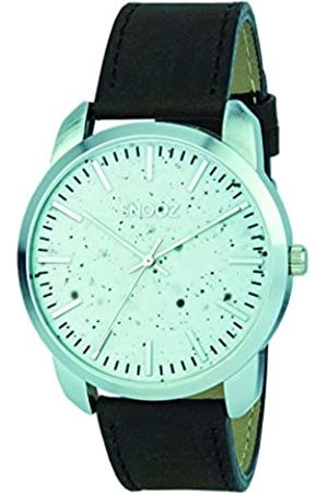 Snooz Men's Analogue Quartz Watch with Leather Strap Saa0044-59
