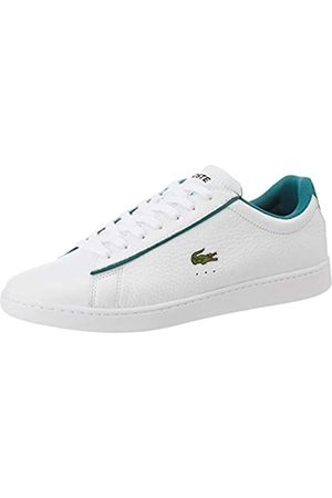 Lacoste Men's Carnaby Evo 120 2 SMA Trainers, (Wht/Grn 082)