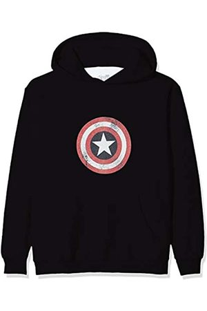 Marvel Boys Avengers Endgame Space Logo Hoodie