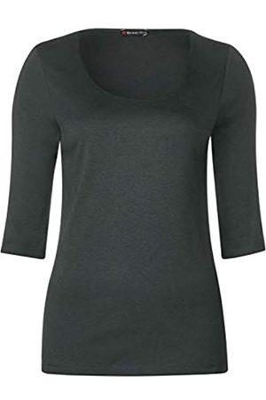 ULLA POPKEN Leinen Bermuda T-Shirt Donna