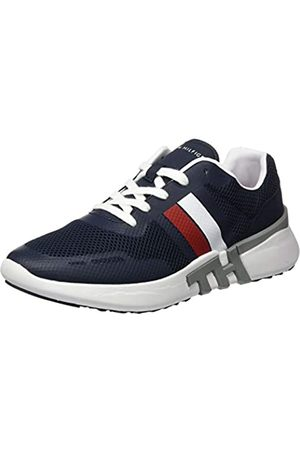 Tommy Hilfiger Men's Lightweight Corporate Th Runner Low-Top Sneakers, (Desert Sky Dw5)