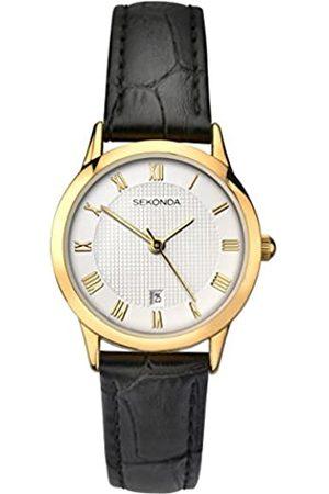 Sekonda Womens Analogue Classic Quartz Watch with Leather Strap 2485.27