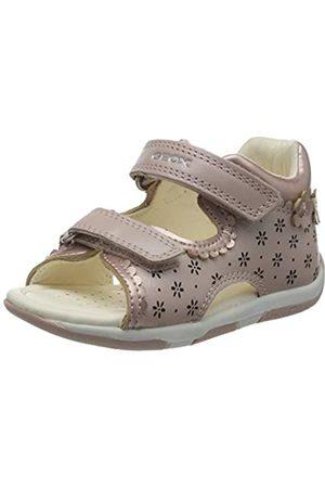Geox Baby Girls' B Sandal Tapuz Open Toe, (Dk Rose C8007)