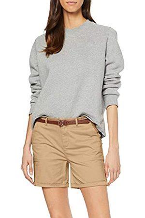 Scotch&Soda Women's Longer Length Chino Shorts, Sold with A Belt