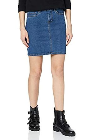 Vero Moda Women's Vmhot Seven Mr Short Skirt DNM Mix Noos