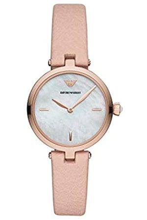 Emporio Armani Quartz Watch with Leather Strap AR11199