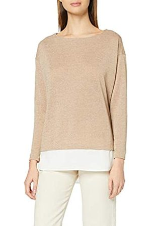 Dorothy Perkins Women's Camel Batwing 2 in 1 Top Blouse