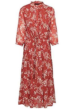 Vero Moda Women's Vmdino 34 Calf Dress WVN Da Ga Casual