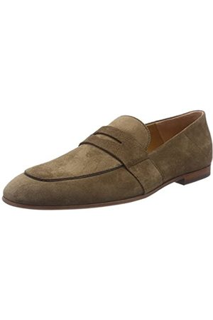 BOSS Men's Safari_loaf_sd Loafers, ( /Khaki 250)