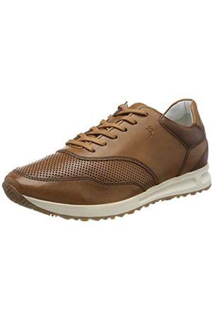 Josef Seibel Men's Thaddeus 10 Low-Top Sneakers, (Cognac-Kombi 448 371)