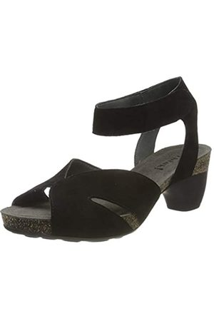 Think! Women's 686570_Traudi Ankle Strap Sandals, (Schwarz 00)
