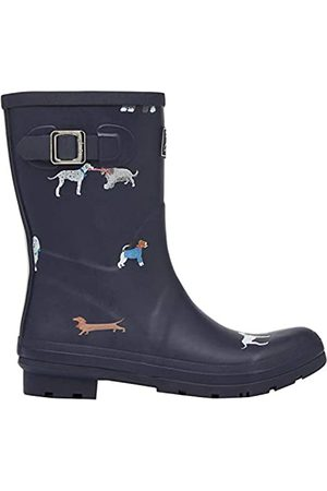 Joules Women's Molly Welly Wellington Boots, (Mayday Dogs Maydaydogs)