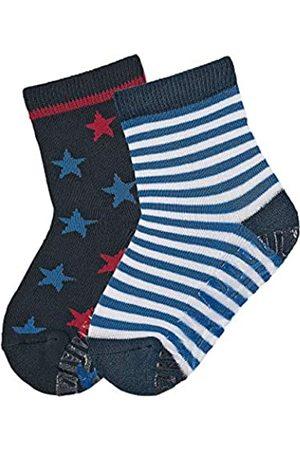 Sterntaler Boy's FLI Air Dp Ringel/Sterne Calf Socks