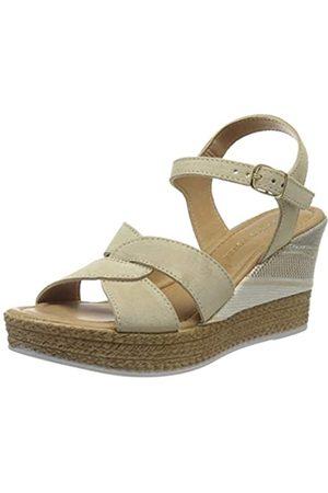 Marco Tozzi Women's 2-2-28391-24 Ankle Strap Sandals, (Sand 355)