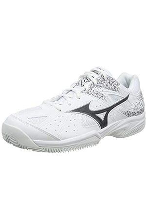 Mizuno Unisex Adult's Break Shot 2 CC Tennis Shoes, (Wht/ /Wht 08)