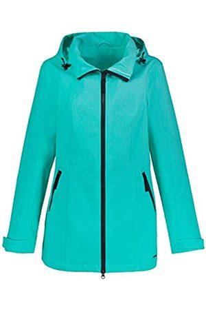 GINA LAURA Women's Softshelljacke Kapuze Abknöpfbar Shell Jacket