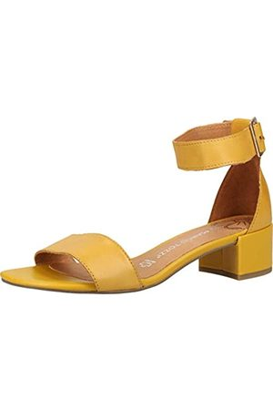 Marco Tozzi Women's 2-2-28214-24 Ankle Strap Sandals, (Sun 602)