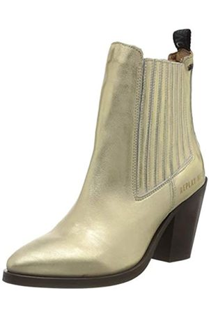 Replay Women's Top - Thurne Cowboy Boots, (Platinum 45)