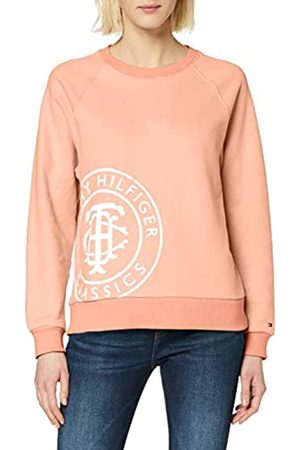 Tommy Hilfiger Women's VINCY Regular C-NK Sweatshirt LS Polo Shirt