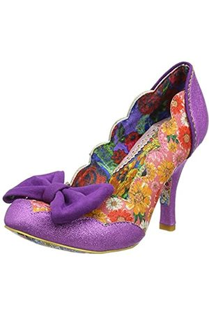Irregular Choice Women's Beach Trip Closed Toe Heels, ( BRN)