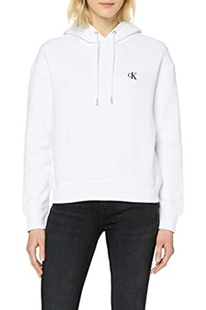 Calvin Klein Women's CK Embroidery Hoodie Hooded Sweatshirt