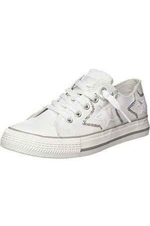 Dockers Unisex Kids' 46mc609-730505 Low-Top Sneakers, (Weiss/Multi 505)