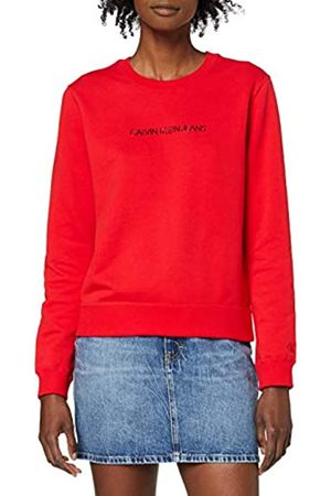 Calvin Klein Jeans Women's INSTITUTIONAL Regular Crew Neck Sweater