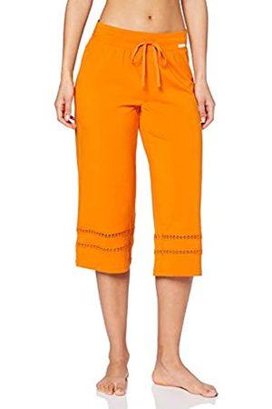 Skiny Women's Damen Pyjama Hose 3/4 Lang Earth Sleep Bottoms
