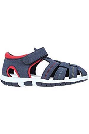 chicco Boys' Sandalo Fausto Open Toe Sandals, (Blu 800)