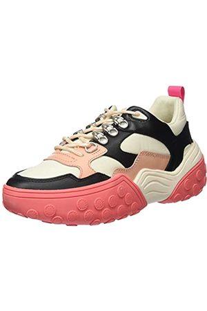 SCOTCH & SODA FOOTWEAR Women's Belva Low-Top Sneakers, (Off Multi S200)