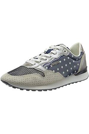 Pepe Jeans London Women's Bimba Dots Low-Top Sneakers, (Navy 595)
