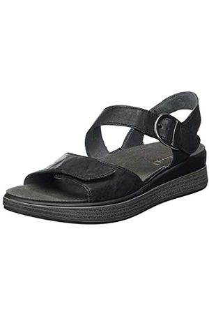 Think! Women's 686440_Meggie Sling Back Sandals, (Schwarz 00)