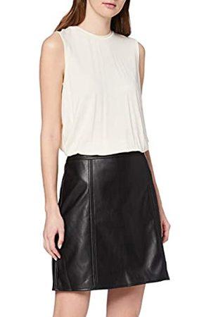 Warehouse Women's Seamed PU Skirt