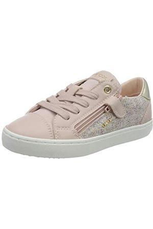 Geox Girls' J Kilwi B Low-Top Sneakers, (Rose C8011)
