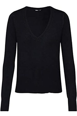 Only Women's Onlvenice L/s V-Neck Pullover KNT Sweater