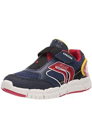 Geox Boys' J FLEXYPER B Low-Top Sneakers, (Navy/ C0735)