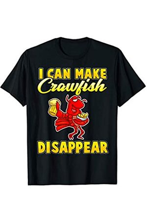 Tee Styley I Can Make Crawfish Disappear Crayfish Men Women Groups T-Shirt