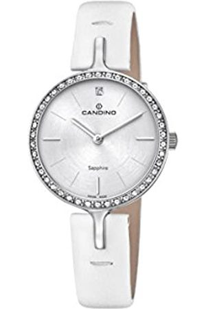 Candino Womens Analogue Classic Quartz Watch with Leather Strap C4651/1