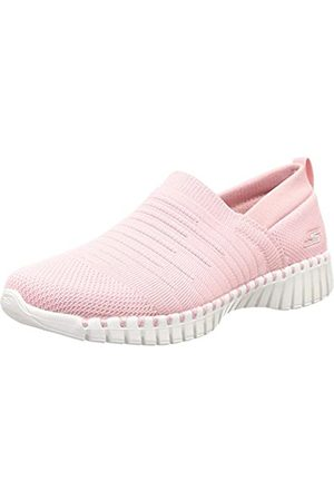 Skechers Women's GO Walk Smart-Wise Trainers, ( Textile/Trim Pnk)