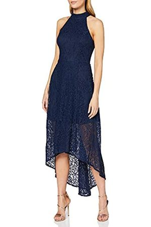 Mela Women's Neck High Low Lace Maxi Dress Casual