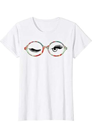Smart Ass Funny Smiling Donkey with Hipster Glasses Womens T-Shirt Extra Large White