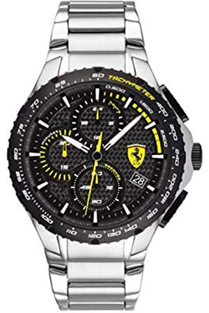 Scuderia Ferrari Men's Analogue Quartz Watch with Stainless Steel Strap 0830729